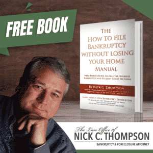 Free Kentucky Foreclosure Manual - Nick C. Thompson, Louisville, Kentucky Bankruptcy Attorney